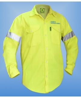 Art. 00047FC Camisa para uso vial confeccionada en sitel fill.