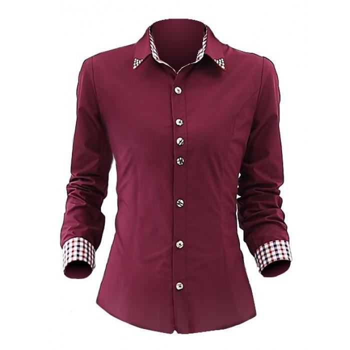 d6ae45bc69 Art. 00080G Camisa para Dama Modelo Secretary